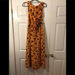 Spencer jeremy dress 100% silk, sleeveless…